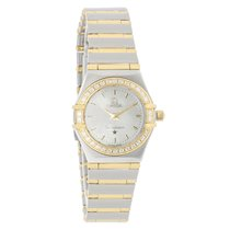 Omega Constellation Mini Ladies Diamond Full Bar Quartz Watch...