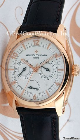 Vacheron Constantin 85050 Quai de L&amp;#39;Ile Day/Date Power Reserve, Red Gold