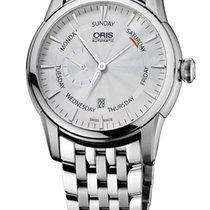 Oris Artelier Small Second Pointer Day Steel Bracelet