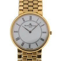 Baume & Mercier Classima 32 Silver Dial Yellow Gold Ladies...