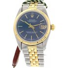Rolex Unisex Rolex Oyster Perpetual Datejust 18K Yellow Gold...