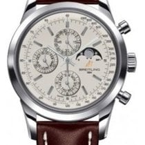 Breitling Transocean Chronograph 1461 Brown Leather Men's...