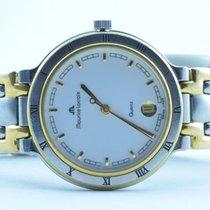 Maurice Lacroix Calypso Damen Uhr Vergoldet 34mm Mit Stahl Band