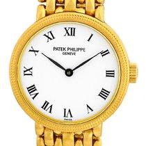 "Patek Philippe Lady's 18K Yellow Gold  ""Calatrava""..."