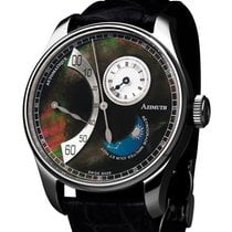 Azimuth Retrograde Minutes Jour Et Nuit Watch Daynight Mother...