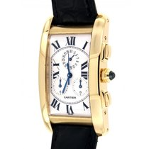 Cartier Tank Americaine 1730 Yellow Gold