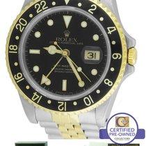 Rolex GMT-Master II 16713 Two-Tone Black Date 40mm Watch