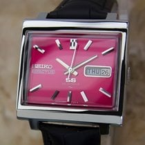 Seiko 5 Actus 1970s Mens 34mm Automatic Made in Japan Stainles...