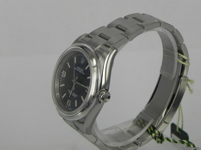 Rolex OYSTER PERPETUAL QUADRANTE BLU 369