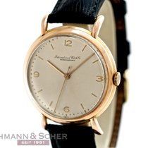 IWC Vintage Gentleman´s Watch 18k Rose Gold Bj-1948