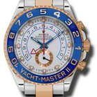 Rolex TWO TONE YACHTMASTER ROSE GOLD/STEEL