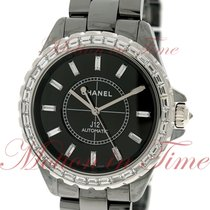 Chanel J12 Chromatic 41mm Automatic, Black Dial, Baguette...