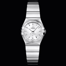 Omega Constellation Quartz Silver Dial 24mm T