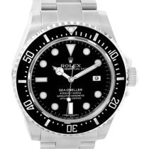 Rolex Seadweller 4000 Stainless Steel Mens Date Watch 116600...