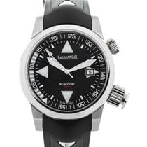 Eberhard & Co. Scafodat 500 Black Dial 44