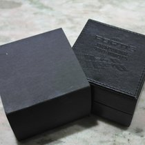 Fortis vintage leather black watch box nice condition