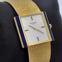 Patek Philippe Vintage Blue Lapis Lazuli 18k Yellow Gold...
