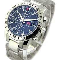 Chopard 15/8992 Mille Miglia Chronograph GMT - Steel on...