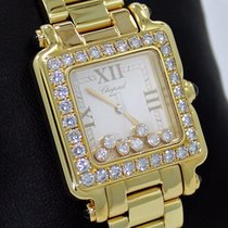 Chopard Happy Sport 27/6770 18k Yellow Gold Fact 7 Floating...