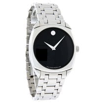 Movado Museum Series Mens Automatic Stainless Steel Watch 0605568