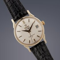 Omega Constellation gold capped automatic