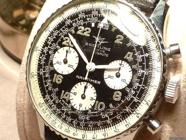 Breitling NAVITIMER COSMONAUTE ref. 809 vintage 24 hrs chronograph