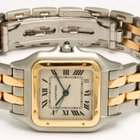 Cartier Panthere 18K Gold & Stainless Steel 27mm Date Watch