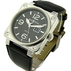 Bell & Ross BR01 96 Big Date - Steel on Strap with ...