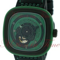"Sevenfriday P1-5 Green Hulk ""Industrial Essence"",..."