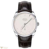 Parmigiani Fleurier Tonda 1950 18K White Gold Leather Men`s Watch