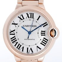 Cartier Ballon Bleu Midsize 18K Rose Gold Watch W69003Z2