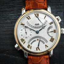Maurice Lacroix Double Retrograde GMT Steel/18k Gold Power...