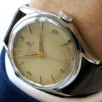 Omega Vintage Watch with wonderful Honeycomb Dial