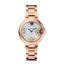 Cartier Ballon Bleu Automatic Ladies Watch Ref WE902039