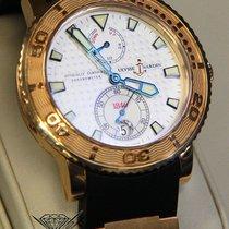 Ulysse Nardin Marine Diver Chronometer 18k Rose Gold Mens 40mm...