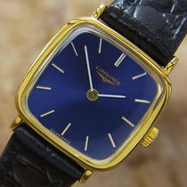 Longines Luxurious Ladies Swiss Made Manual Gold Plated Dress...