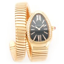 Bulgari Rose Gold Serpenti Diamond Watch