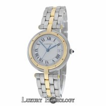 Cartier Lady's  Panthere 183964 Vendome Cougar 1 Row 18K...