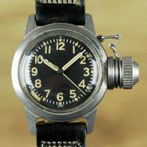 Elgin Vintage Canteen Diver USN Buships Military Watch