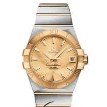 Omega Constellation Co-Axial 38mm Steel/Gold