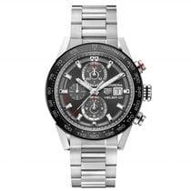 TAG Heuer Carrera Caliber Heuer 01 43mm Mens Watch car201w.ba0714