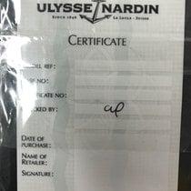Ulysse Nardin garanzia warranty guarantee Paper nuova aperta open