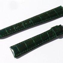 Chopard Croco Band Strap Green 17 Mm 80/115 New C17-04 -70%