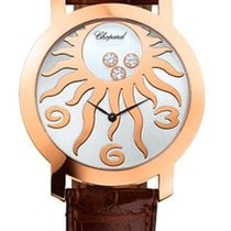 Chopard Happy Diamonds Sun Rose Gold 18K Rose Gold Ladies Watch