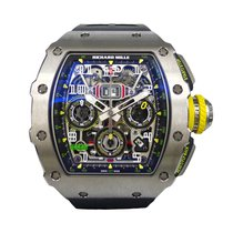 Richard Mille RM011 -03  Flyback Chronograph Titanium NEW