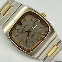 Omega CONSTELLATION DAY DATE MEGAQUARTZ 32 KHZ STEEL/GOLD 1975