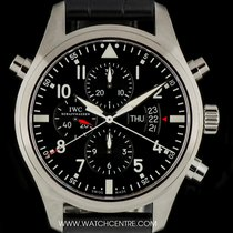IWC S/S Unworn Pilots Split Seconds Doppelchrono B&P IW377801