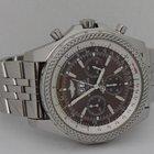 Breitling Bentley 6.75 Chrono SS Bronze Dial 49mm Watch B&P