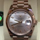 Rolex President 228235 Day Date 40 Rose Gold 18k Everose 2015