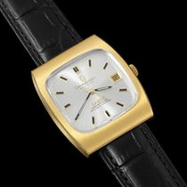 Omega 1969 Constellation Vintage Mens Watch - 18K Gold Plated...